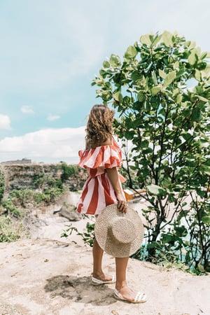 Bali-Uluwatu-Faithfull-Stripped_Dress-Off_The_Shoulders-Red_Dress-Straw_Hat-Espadrilles-52-1800x2700-1