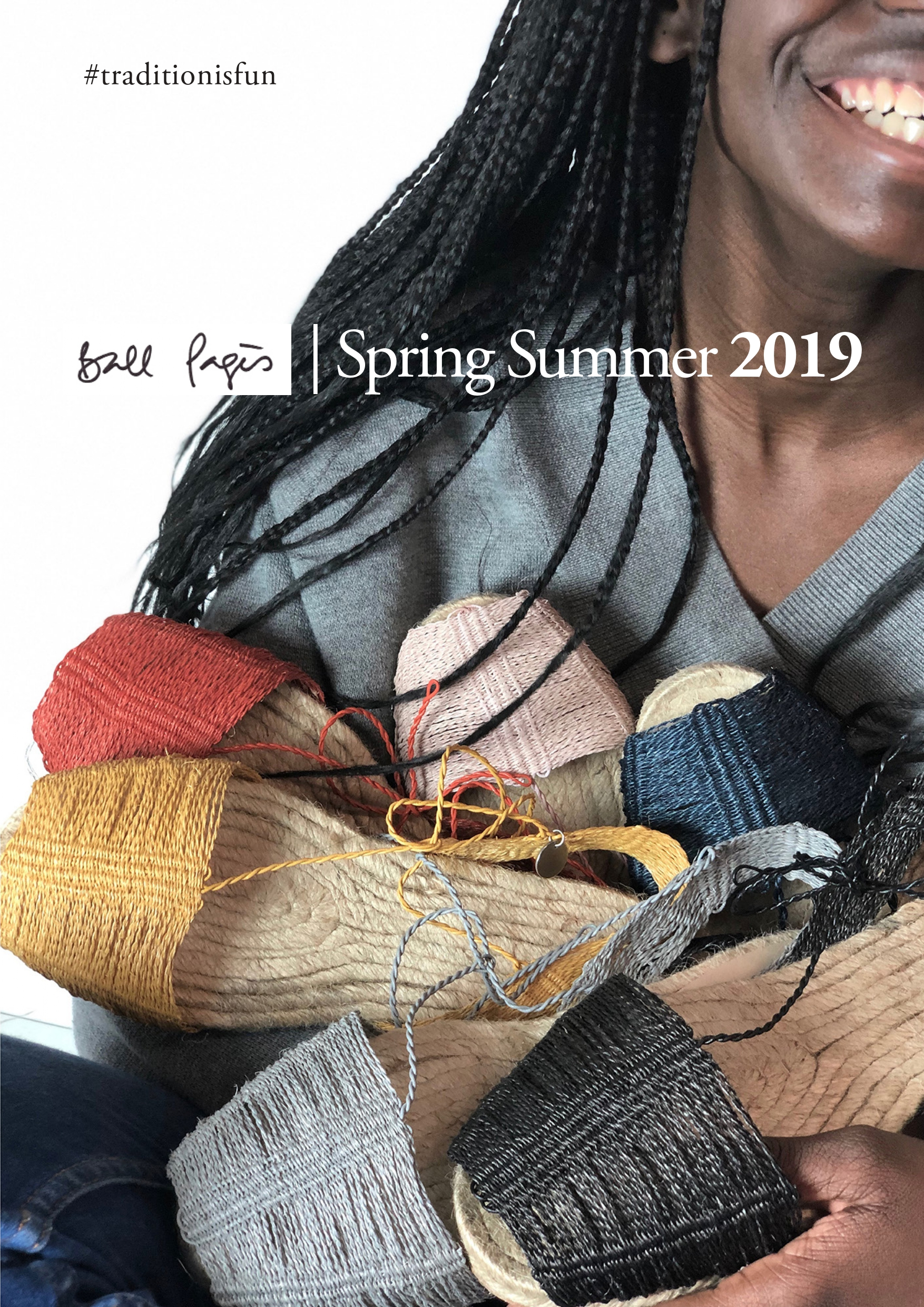 Nueva Colección Ball Pagès Spring Summer 2019, Alpargatas