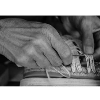 Atelier cosint bn-2 alpargatas handmade moda sostenible ball pages