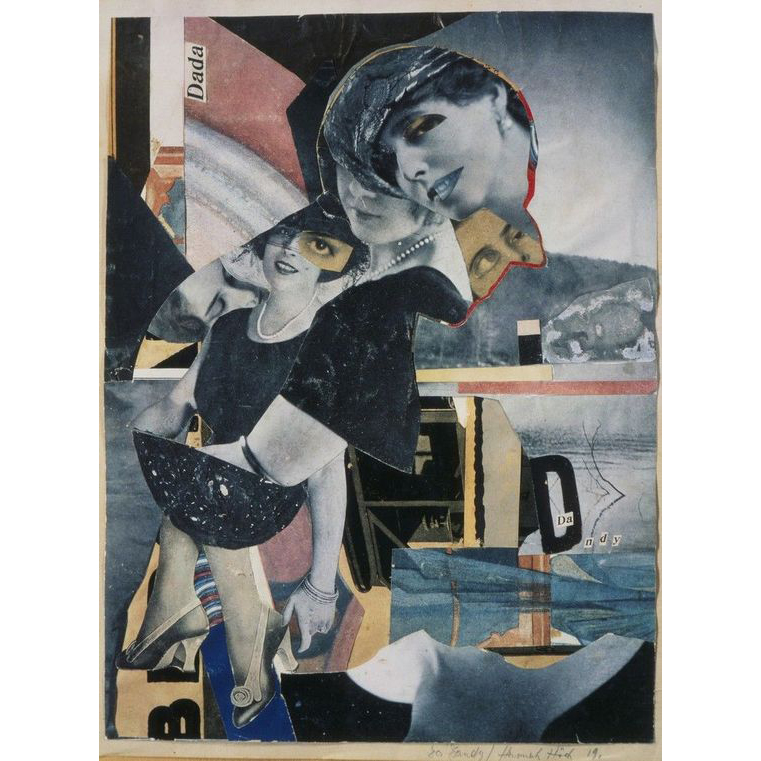 Hannah Höch Da-Dandy, 1919 Private Collection, Berlin