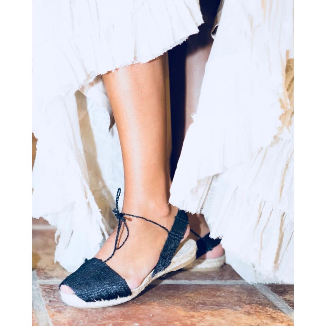 Cinderella Tus pies son los más bonitos Alpargatas planas mediterráneas Ball Pagès