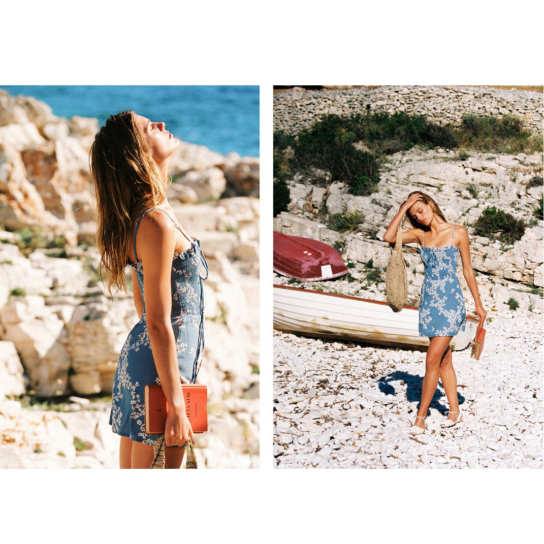 La alpargata plana es la mejor opción para un look de verano natural y a la moda Ball Pagès